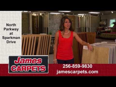 James Carpets of Huntsville - LVP and LVT Sale