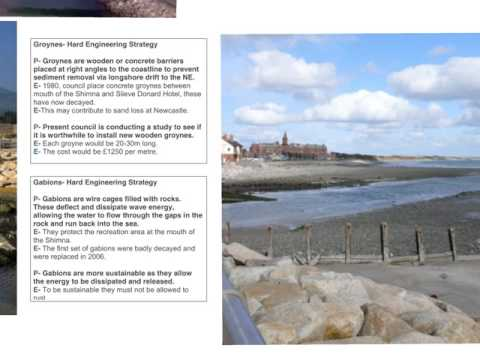 CCEA GCSE UNIT 1- Coastal Management Strategies- Newcastle, Co. Down