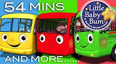 Wheels On The Bus   Nursery Rhymes for Babies   Little Baby Bum   ABCs and 123s