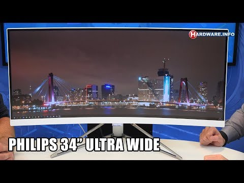 Philips 349X7FJEW 34 ultra wide monitor review - Hardware.Info TV (4K UHD)