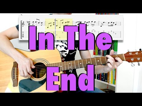 Linkin Park - In The End (fingerstyle cover, tabs, lyrics)