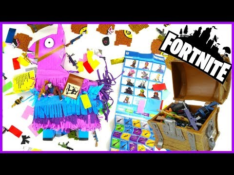 FORTNITE Llama Drama Loot Pinata And Loot Chest Unboxing Rust Lord