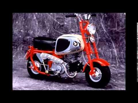 Video Perkembangan Modifikasi Motor Mini Trail Klasik Honda Monkey Youtube