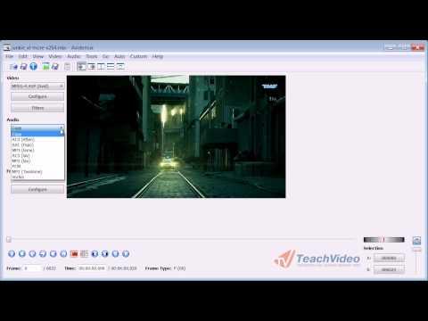 Avidemux как конвертировать видео