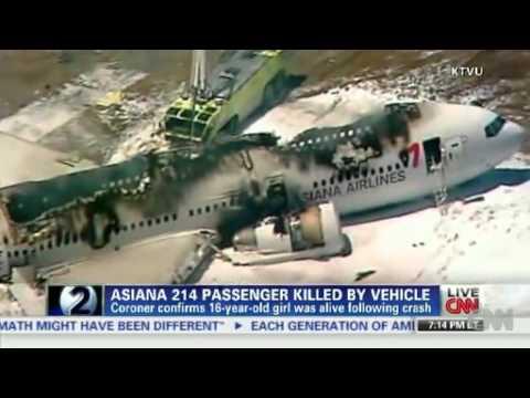 Latest News: Asiana 214 passenger killed by vehicle