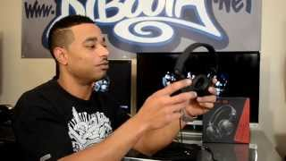 pioneer HDJ-C70 Professional On-Ear DJ Headphones Review Video