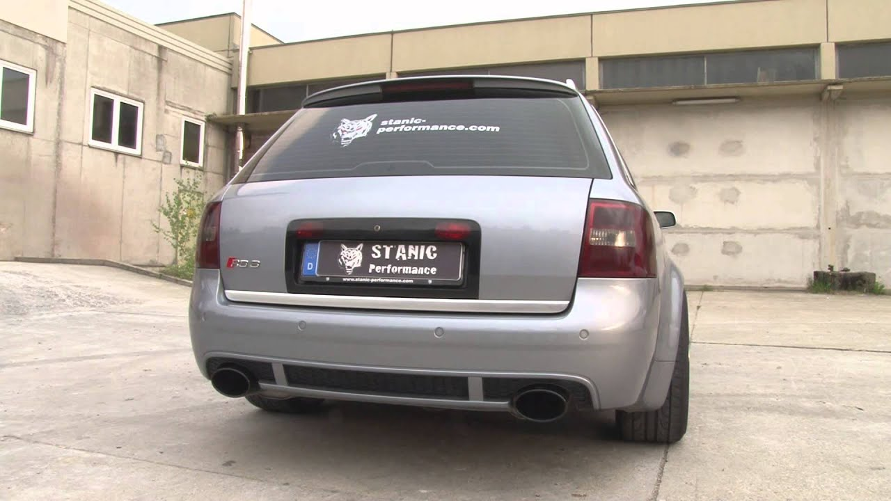 audi rs6 4b v8 by stanic performance youtube