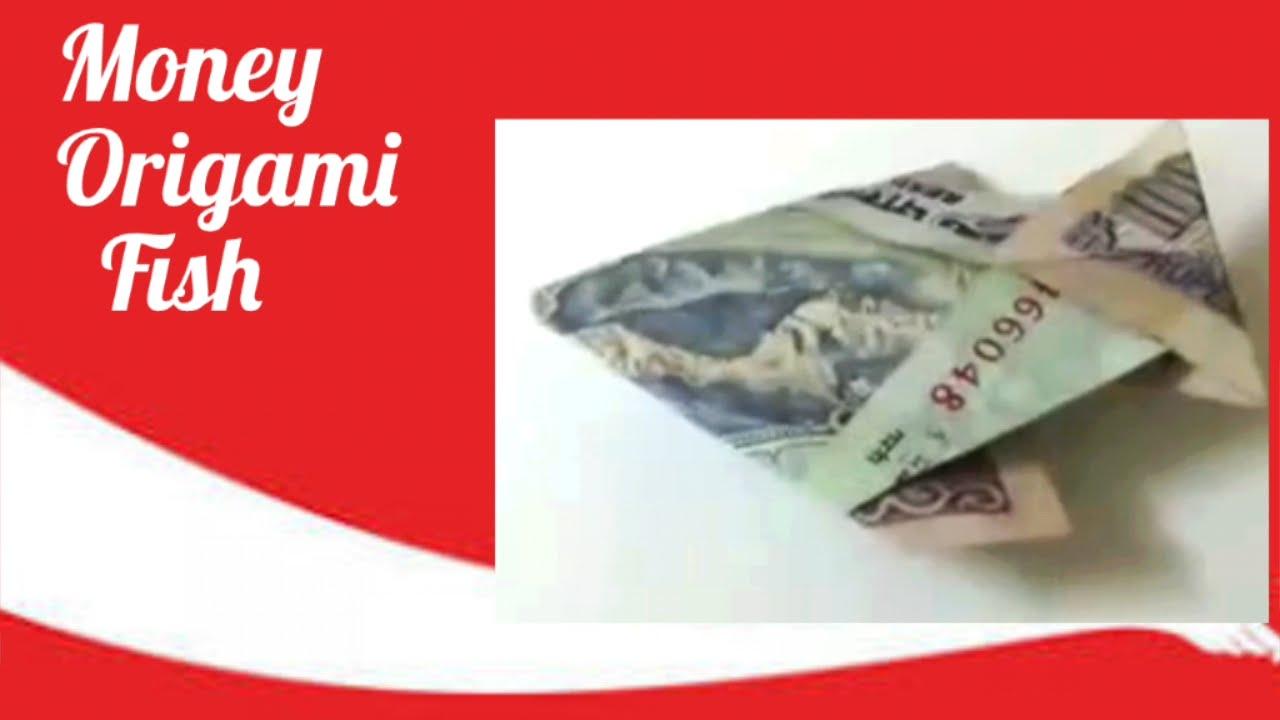 Diy how to make money origami fish youtube diy how to make money origami fish jeuxipadfo Choice Image