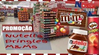 PROMOÇÃO DE  NUTELLA - PRINGLES - M&M