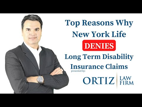 Top Reasons Why New York Life Insurance Denies LTD Claims