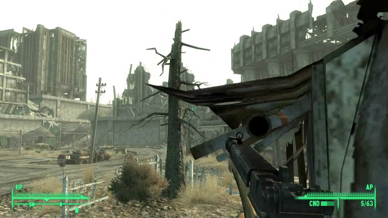 Fallout 3 AWOP 1 7 Full Playthrough Part 2 Modded Very Hard Max Spawns