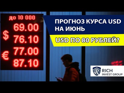 Курс Рубля / Прогноз Курса Доллара на Июнь 2020 / Доллар по 80 рублей?