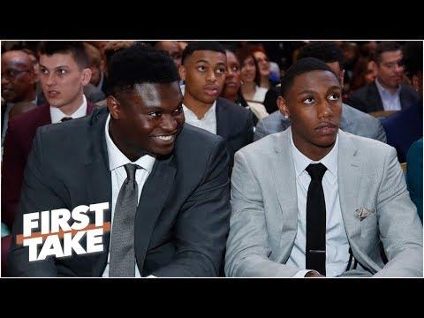 Zion Williamson or RJ Barrett: Who is under more pressure? | NBA | First Take
