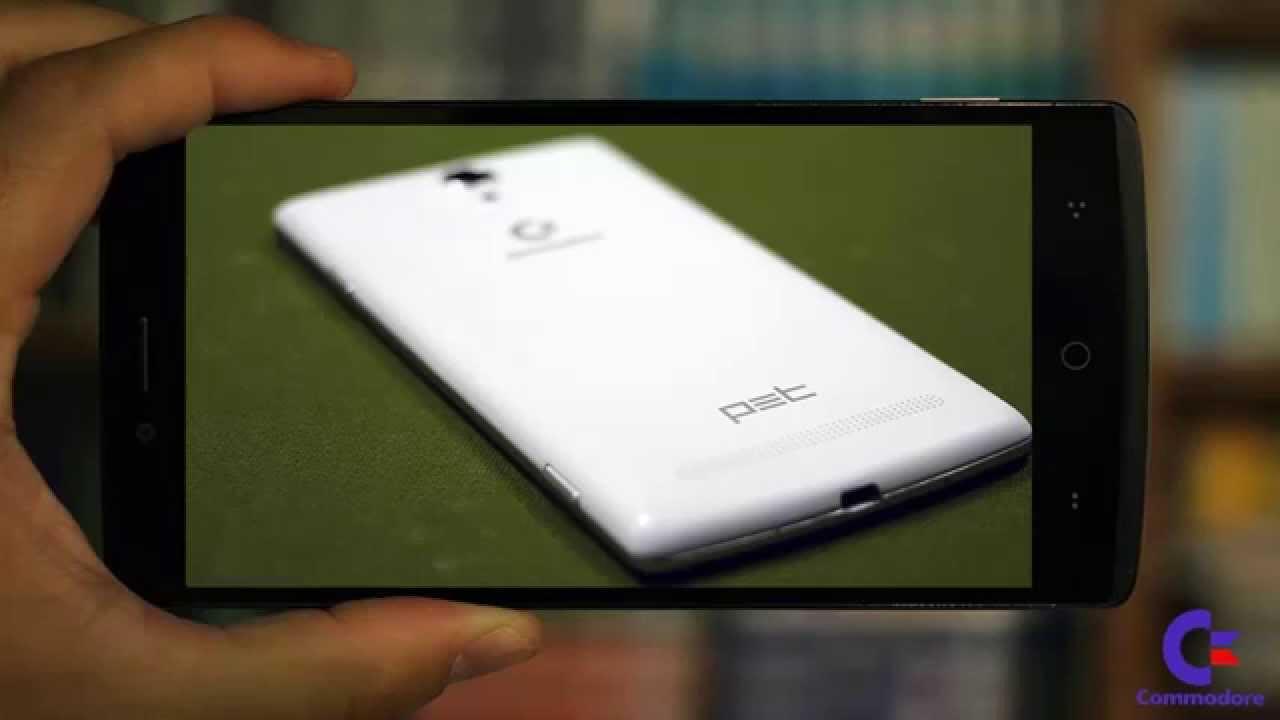 Commodore Smartphone PET - Android 5.0 Lollipop
