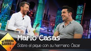 Mario Casas explica la razón del gran pique con su hermano Óscar Casas - El Hormiguero 3.0