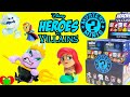 Disney Heroes vs Villains Funko Mystery Mini Ursula Ariel Marshmallow