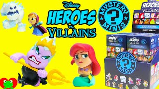 Disney Heroes vs Villains Funko Mystery Mini Ursula Ariel Marshmallow