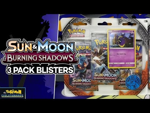 Opening BOTH Burning Shadows 3 Pack Blisters Of Pokemon Cards! | INSANE PULLS!!!