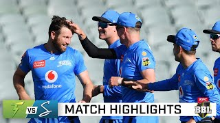 Thunder's Boost collapse hands Strikers critical win   KFC BBL 10