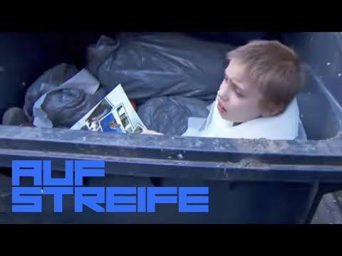 Gemeinheit! Junge auf Krcken in die Mlltonne gesteckt! | Auf Streife | SAT.1 TV