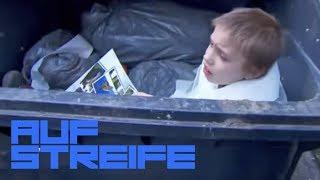 Gemeinheit! Junge auf Krücken in die Mülltonne gesteckt! | Auf Streife | SAT.1 TV