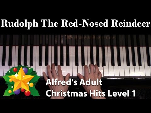 Rudolph the Red-Nosed Reindeer (Elementary Piano Solo)