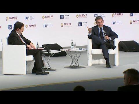 Актуальные проблемы в сфере экономики обсуждают в Москве на традиционном Гайдаровском форуме.