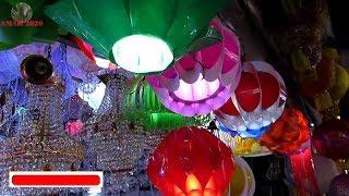 DIWALI LED LIGHT WHOLESALE MARKET AT EZRA STREET KOLKATA INDIA 2017