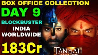 Tanhaji the Unsang warrior movie Box office collection day 9 | Blockbuster India,W.W | Ajay Devgan