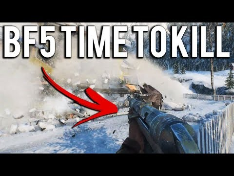 Battlefield V's Time to Kill (Fast or Slow) *NEW GAMEPLAY*