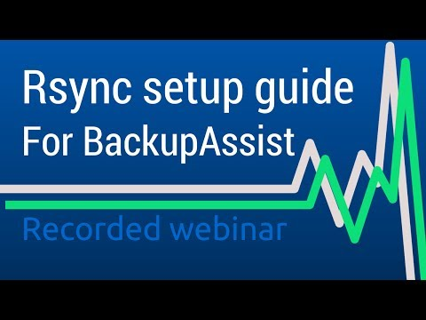 Create Off-site Backup Jobs Using Rsync and BackupAssist