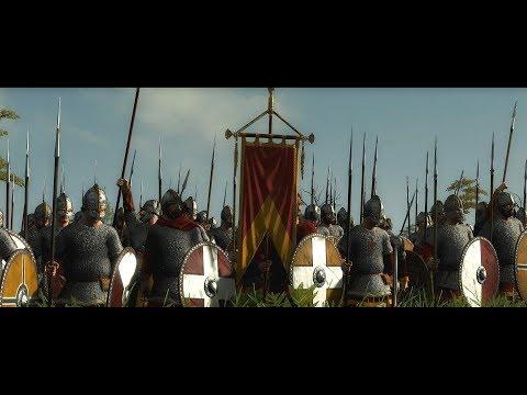 Total War Saga: Thrones of Britannia | West Seaxe Vs Norse | Cinematic Battle |