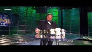 """The Million Dollar Man"" Ted DiBiase Hall Of Fame Induction ceremony 2010 Part 1/2"