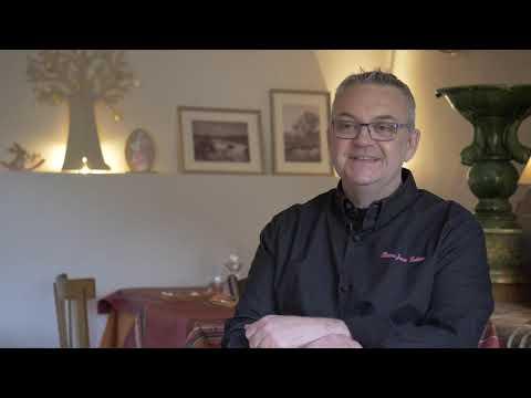 Cuisinier bio et local dans mon restaurant - Pierre-Jean LATTIER, restaurant La Fontaine (26)