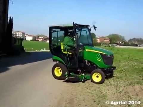 Approved Cab For John Deere 1023 1025 And 1026 Youtube