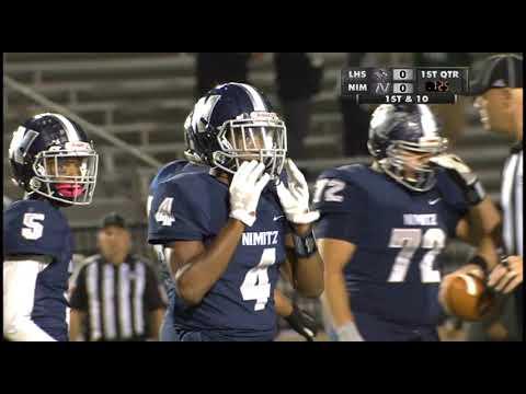 High School Football Lewisville vs Nimitz 10 25 18