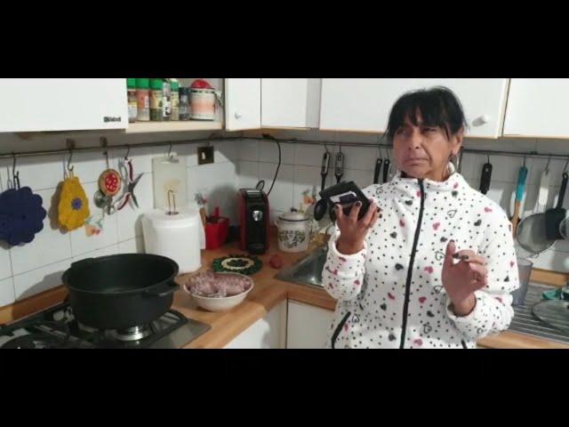 In cucina (FORSE) con Sonia