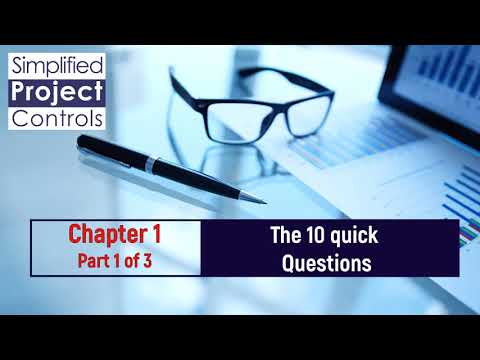 The 10 Most Important Rules of Project Controls - Part 1 of 2