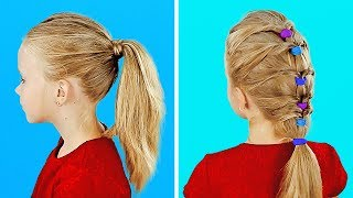 12 EASY HAIRSTYLES FOR HYPERACTIVE GIRLS