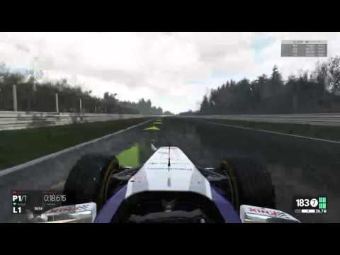 Project Cars F1 racing for records (no assists)