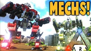 Ark Survival Evolved - MECH WARFARE IS COMING TO ARK! EXOSUIT - Ark Modded Gameplay