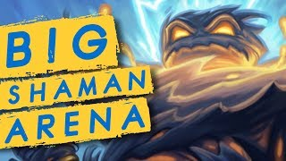 BIG SHAMAN ARENA - Make It to The Lategame & Win | Rastakhan