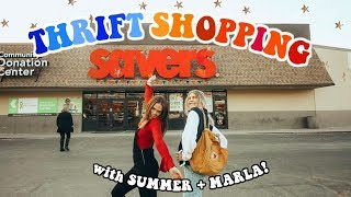 Thrift Shopping with Marla & Summer Mckeen!