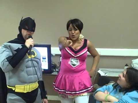 Batman sings Elvis - Wonder of You Karaoke for Children in Need 2012