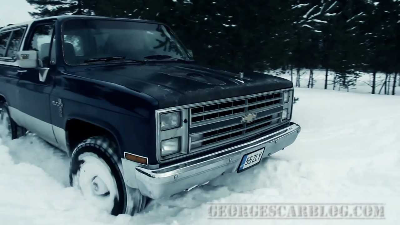 Chevy K5 Blazer 6.2 Diesel V8 First Offroad Tests in ...