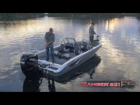 Ranger 621FS On Water Footage