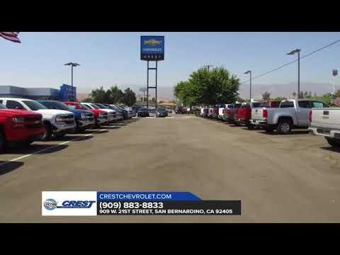 Why Buy At Crest Chevrolet In San Bernardino CA | Chevy Dealer San  Bernardino CA