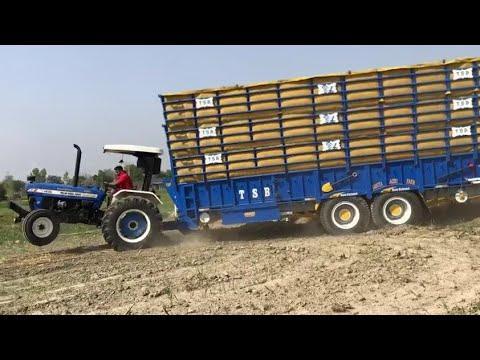 A Tractor Di Rees Ni Kada Koi Siraaaa