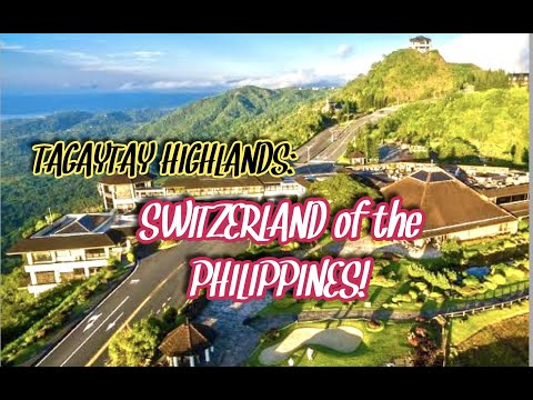 Tagaytay Highlands: Switzerland of the Philippines!! Lot for sale+Road trip || #Philippines