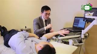 [心視台] 香港骨科專科醫生 梁漢邦醫生現場儀器測試神經缐功能